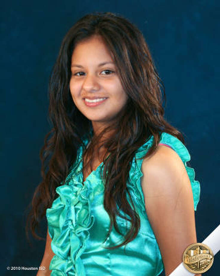Gabriela Ramirez, Sam Houston Math, Science, and Technology Center  Class rank:  Valedictorian;  College:  University of Texas at Austin Goal for the Future: Major in mathematics Photo: Courtesy Of Houston ISD