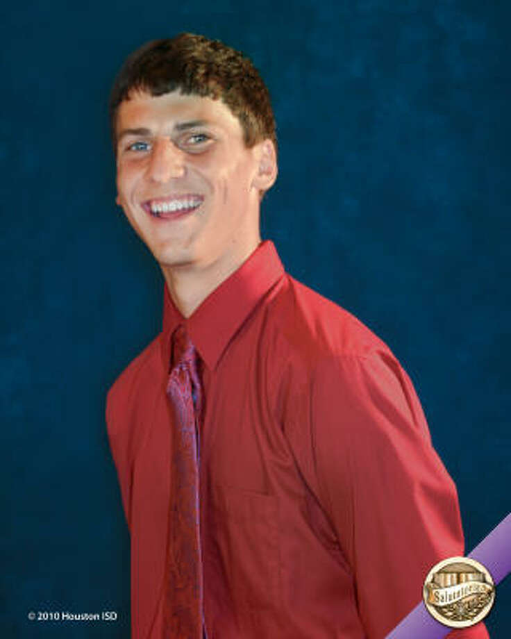 "Michael Mueller, Waltrip High School  Class rank:  Salutatorian;  College:  Texas A&M University Goal for the future: ""My goal is to end up doing something that I love."" Photo: Courtesy Of Houston ISD"