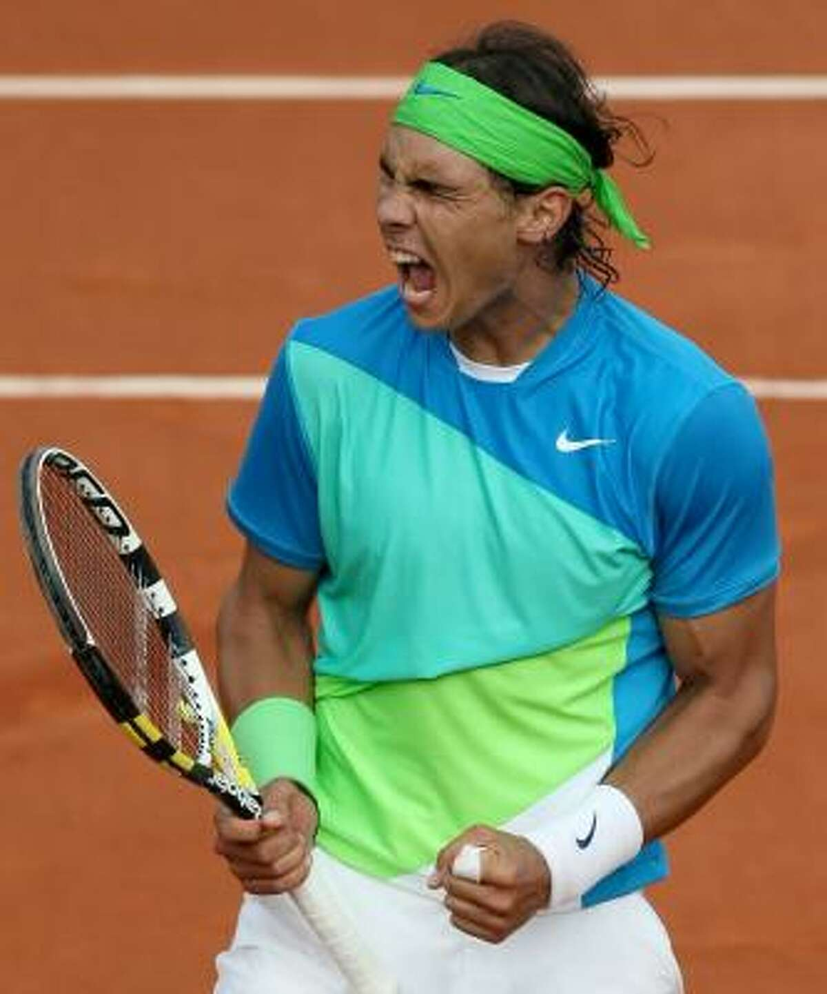 Rafael Nadal has yet to drop a set in the tournament. Last year, his 31-match winning streak at Roland Garros ended with a fourth-round loss to Robin Soderling.