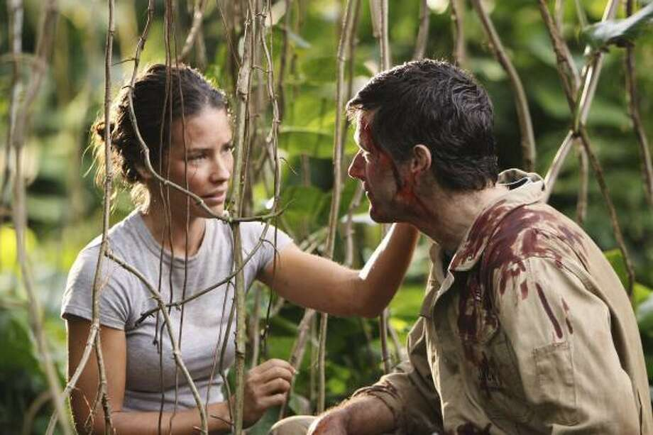 The stories of Kate (Evangeline Lilly) and Jack (Matthew Fox) wraps up with the series finale of Lost on Sunday. Photo: MARIO PEREZ :, ABC