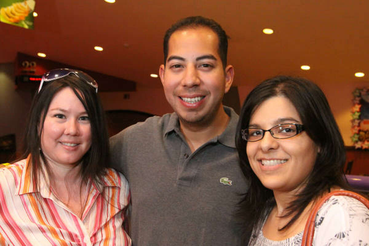 Michelle Villegas, Arturo Pedraza and Veronica Casas