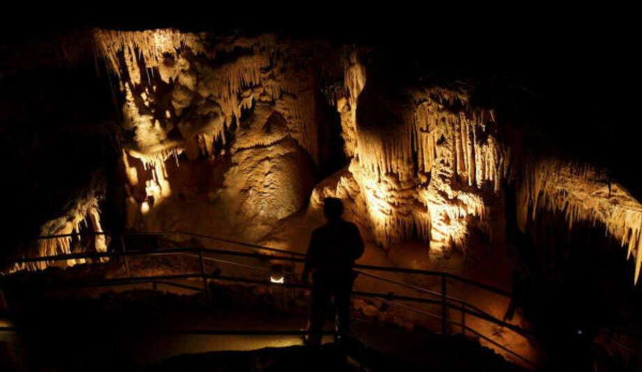 New Braunfels-area attraction: Natural Bridge Caverns