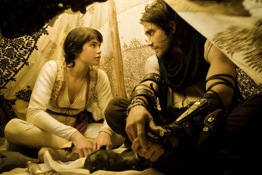 Prince of Persia: The Sands of TimeIMDB.com:Based on the video game, which follows an adventurous prince who teams up with a rival princess to stop an angry ruler from unleashing a sandstorm that could destroy the world.Release date: May 28 Photo: Andrew Cooper, SMPSP