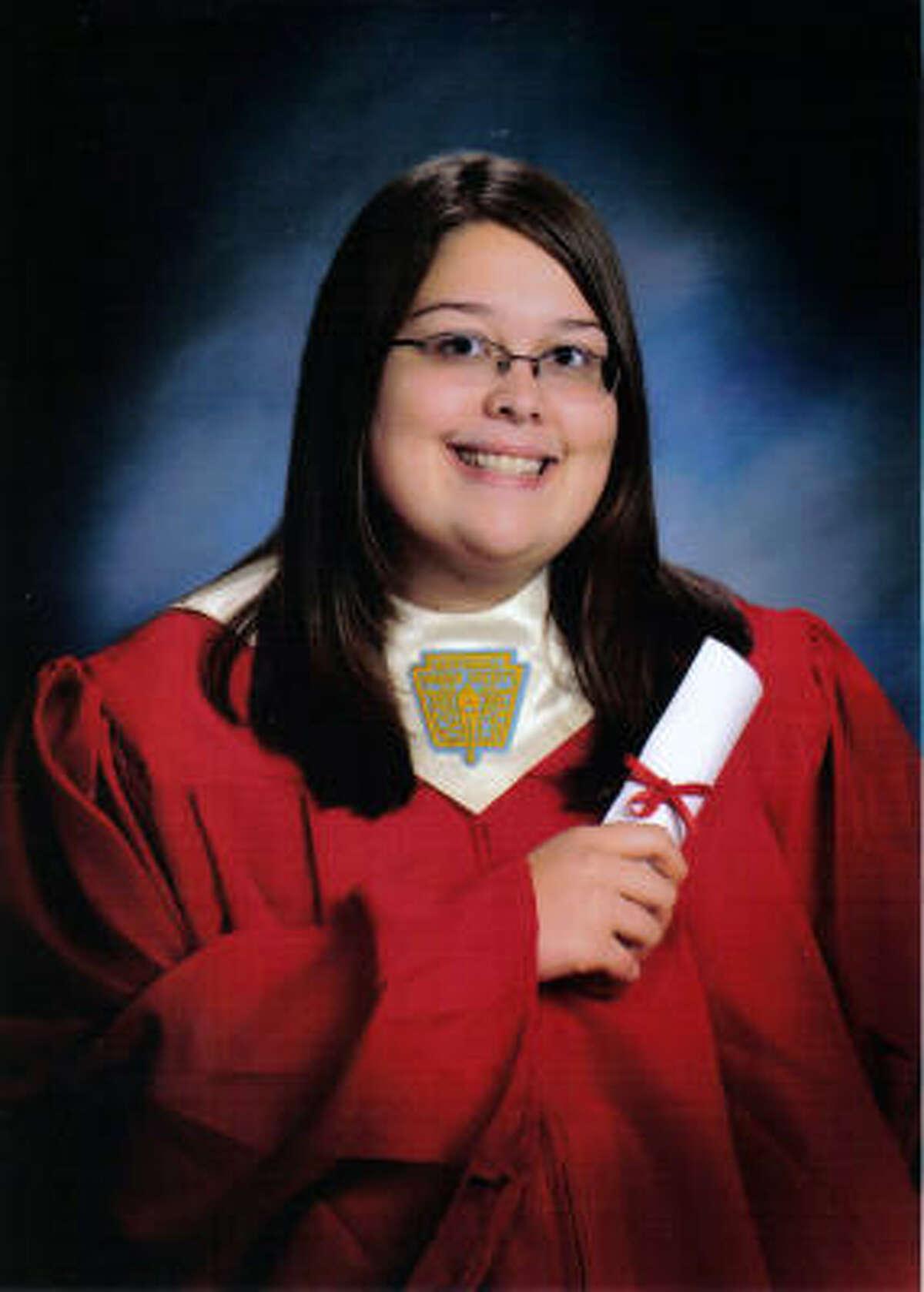 Kayla Brianne Springer Caney Creek High School Valedictorian College: University of Texas at Dallas