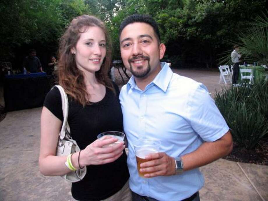 Catherine Spradley, left, and Joe Rocha Photo: Jordan Graber, For The Chronicle