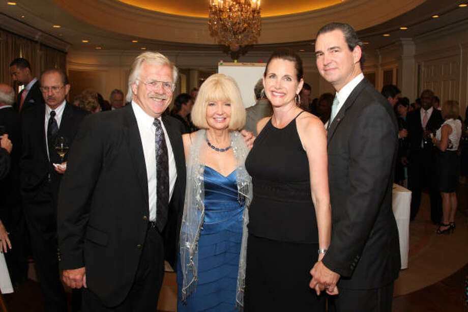 Ron Sterleker and Pam Lockard with Lisa and Craig Wilson at the Mission of Yahweh's second annual Mission Incredible Gala. Photo: Kim Coffman
