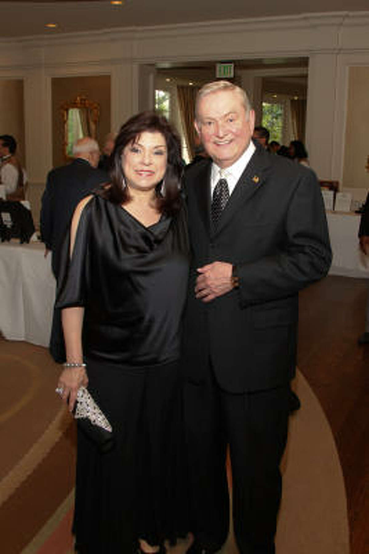 Honorees Laura and Dave Ward