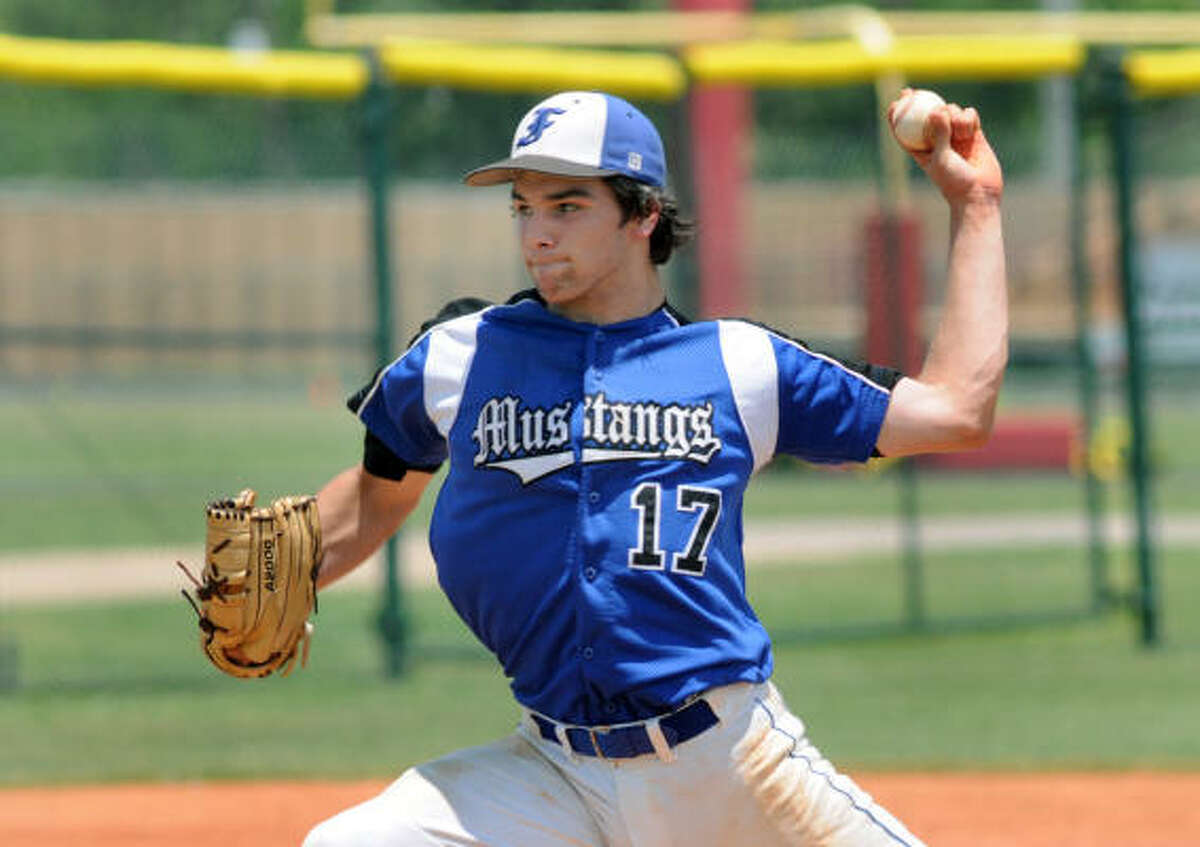 May 22: Friendswood 9, Waltrip 3 Friendswood's Tyler Sullivan allowed only two runs in 4 1/3 innings to propel the Mustangs to a win over Waltrip in Game 3 of their Class 4A Region III quarterfinal series on Saturday. Friendswood advances to the Region III-4A semifinals.