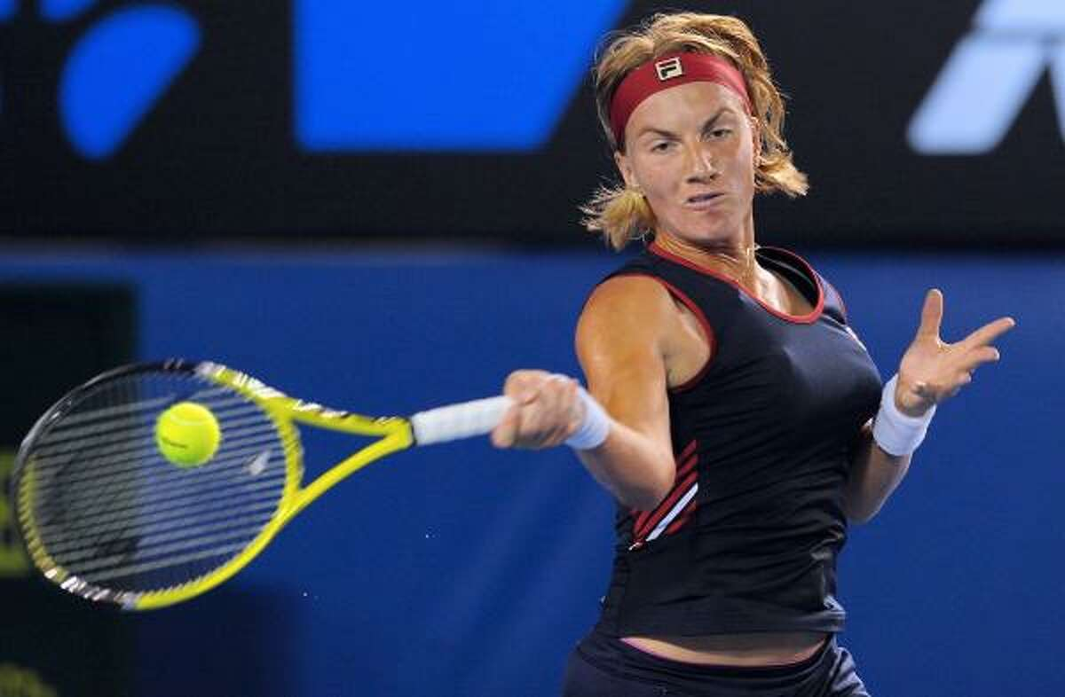 SVETLANA KUZNETSOVA (6) Age: 24 Country: Russia 2010 Match Record: 8-9 2010 Singles Titles: 0 Career Singles Titles: 12 Major Titles: 2 - French Open ('09), U.S. Open ('04) Last 5 French Opens: '09-W, '08-SF, '07-QF, '06-F, '05-4th Topspin: Since making it to the Australian Open's fourth round in January, has won two matches at a single tournament only once. ... Off to a terrible start on European clay circuit, going 1-3, including three consecutive losses.