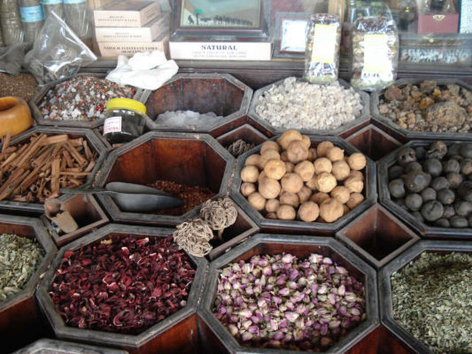 Souqs sell spices such as saffron, cinnamon and many more. There are many nationalities in Dubai, and English is spoken everywhere. Photo: Tara Dooley, Chronicle