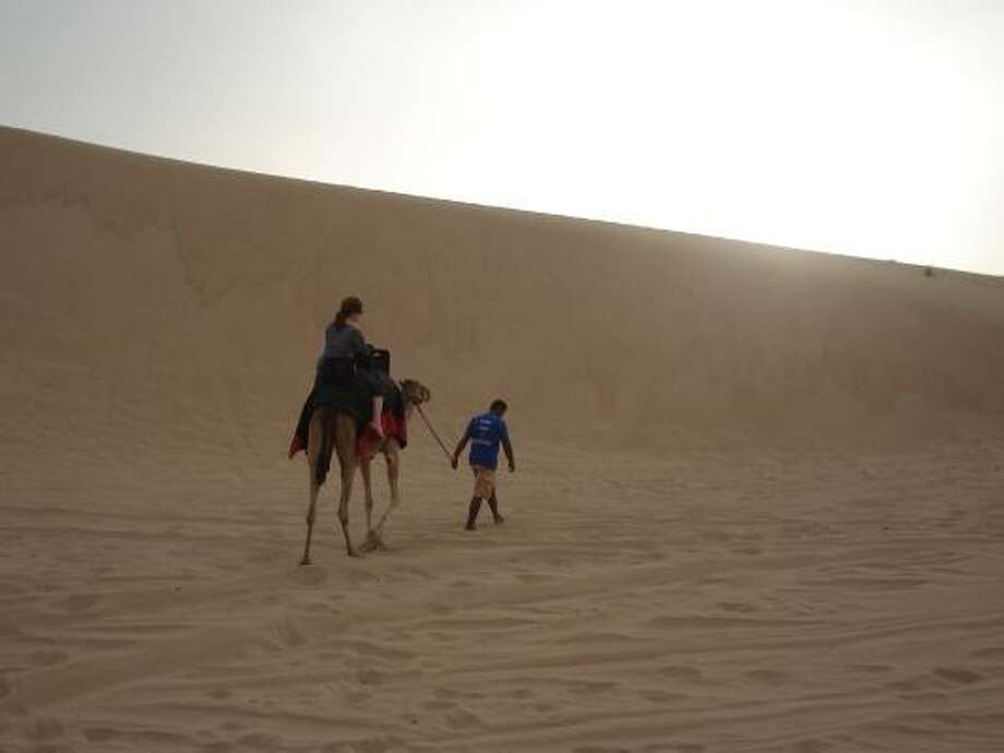 Dubai is on the Arabian Peninsula, a spit of desert on the Persian Gulf. Photo: Tara Dooley, Chronicle