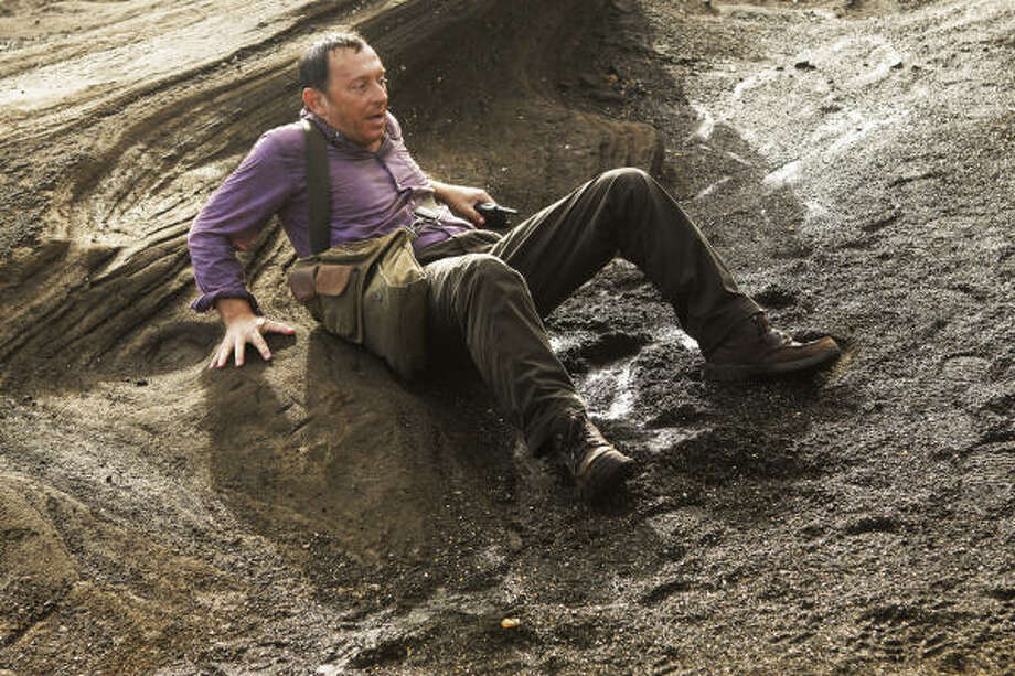 Is Ben (Michael Emerson) really bad again? Or is he conning the Man in Black? Photo: Mario Perez, ABC