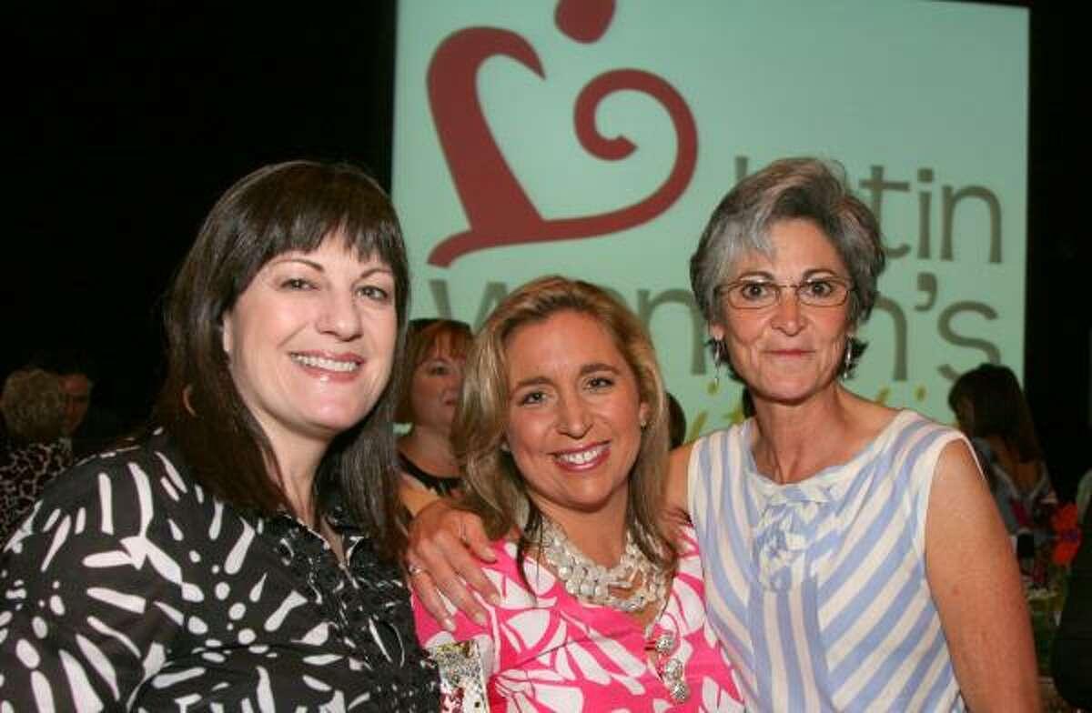 Ellie Francisco, Patty Dominguez and Sara Selber