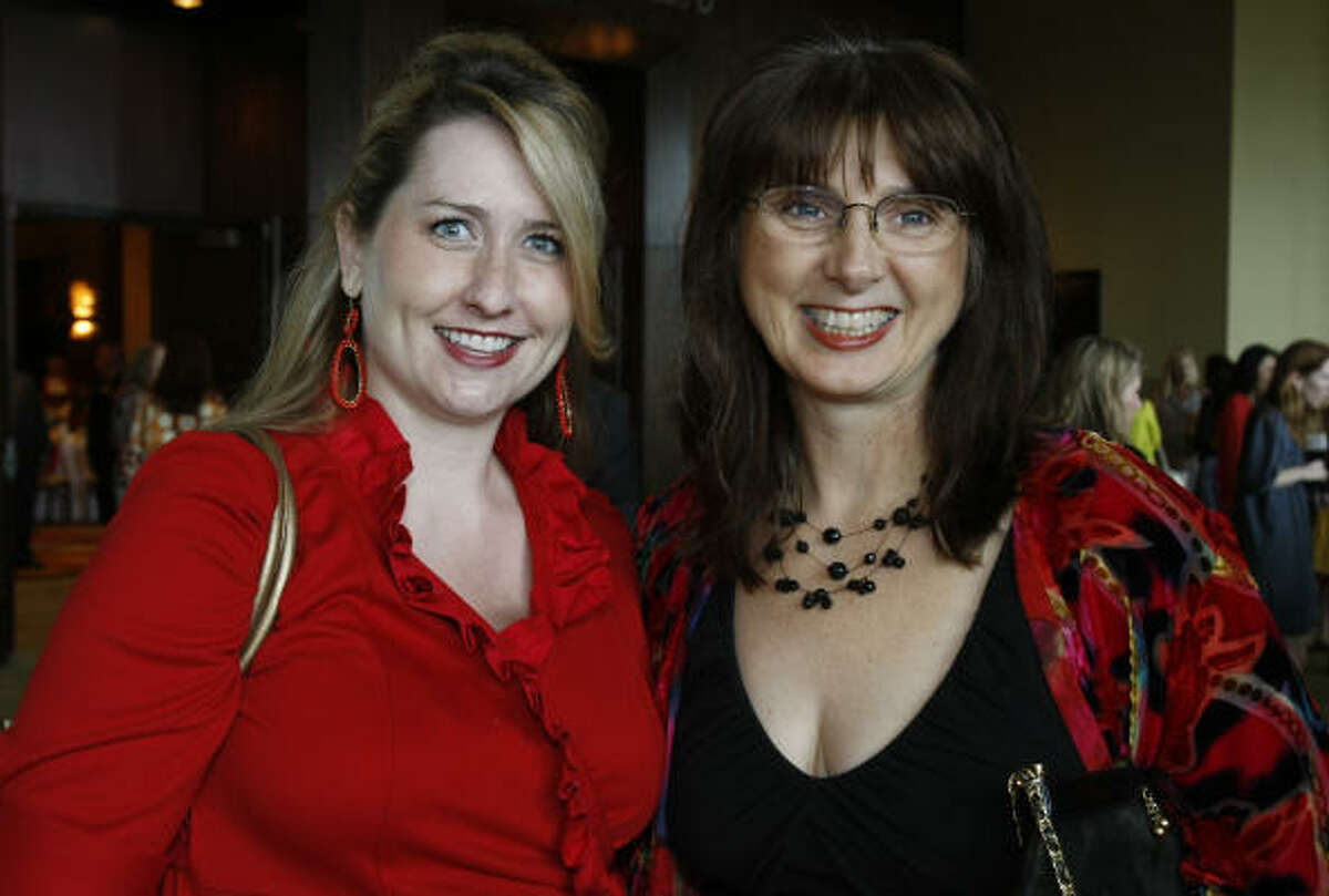 Hilary Haglund Walker, left, and Judy Frow