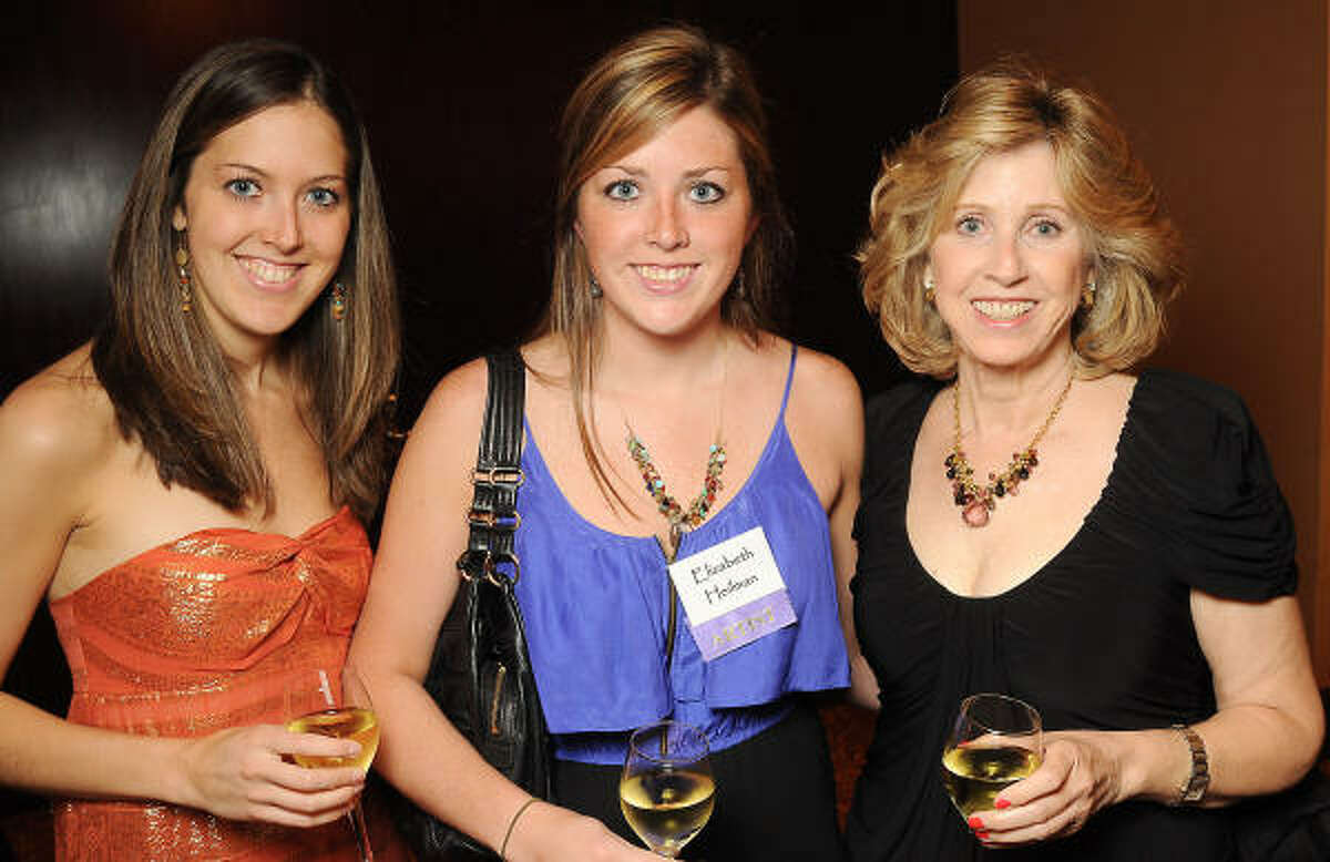 From left: Rebecca Heilman, Elizabeth Heilman and Barbara Heilman