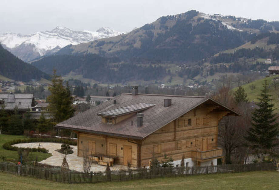 "The chalet, named ""Milky Way"", of film director Roman Polanski, is seen in Gstaad, Switzerland. Photo: Michel Euler, AP"