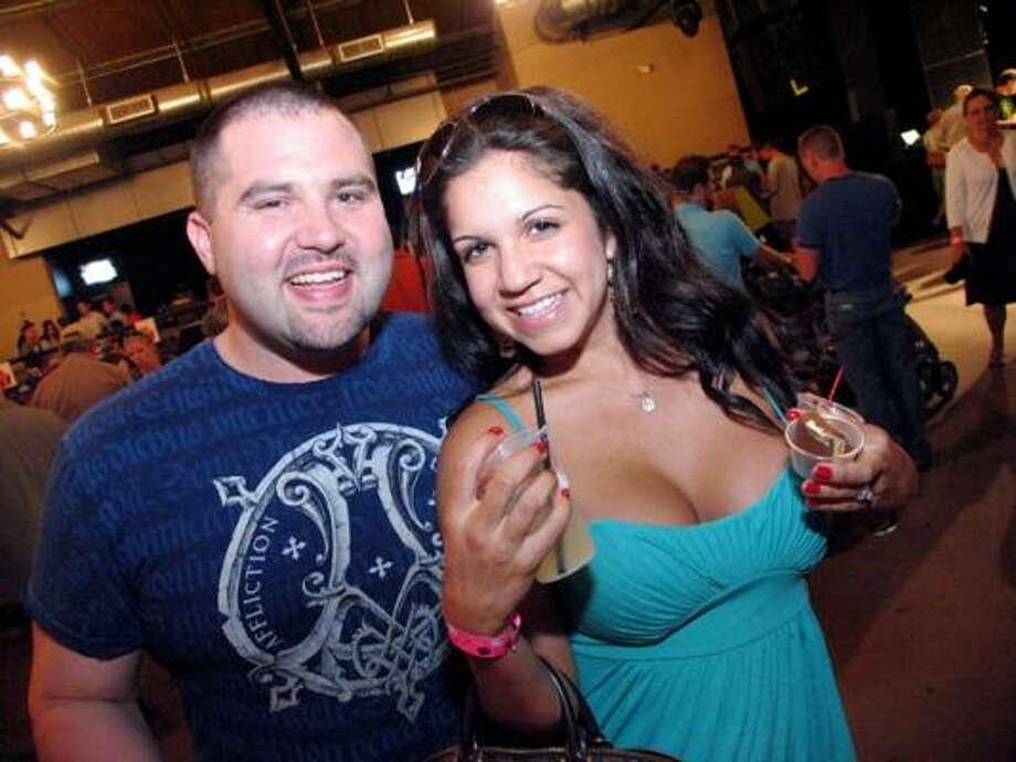 DJ Penetrate and Leah De La Garza Photo: Jordan Graber, For The Chronicle
