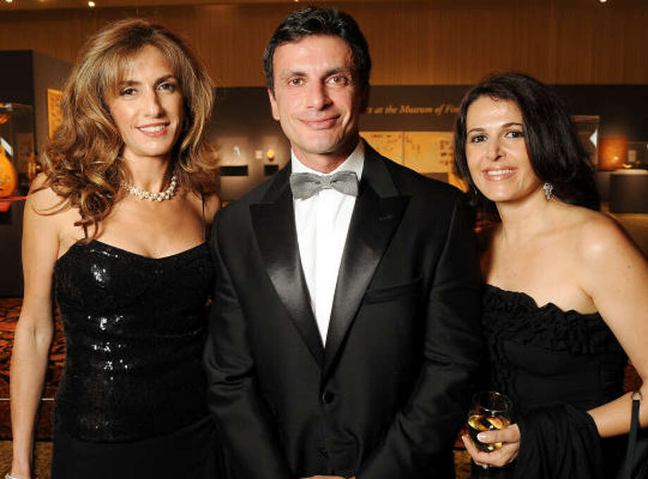 Among the things that make me happy:I'm a breast cancer survivor.Learn more about Ladjevardian in her full Best Dressed profile. Pictured with Monsour Taghdisi and Maxi Ettehadieh. Photo: Dave Rossman, For The Chronicle
