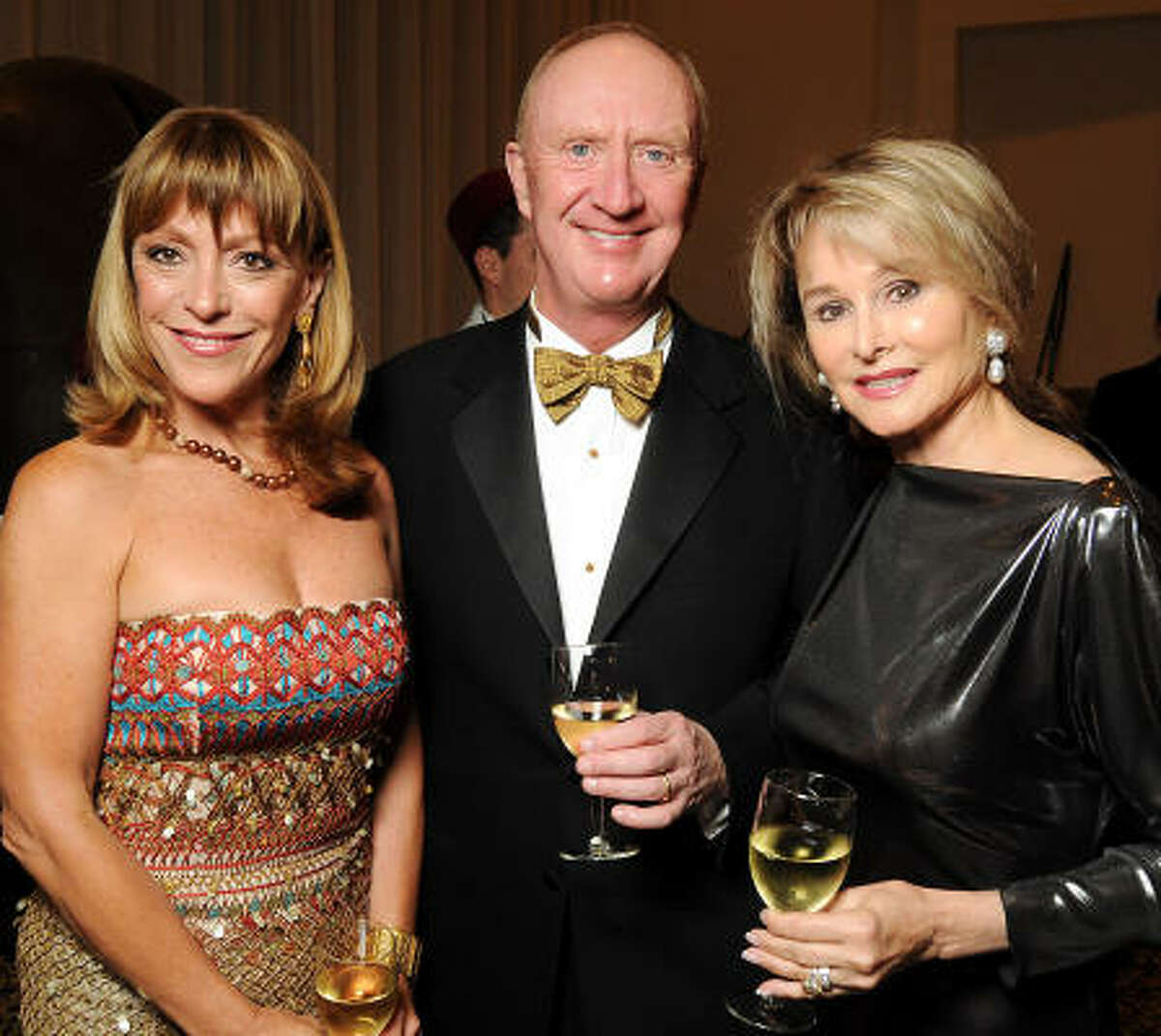 From left: Franci Crane with Frank and Michelle Hevrdejs
