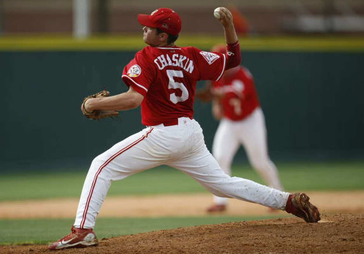 Bellaire starter Kyle Chaskin went the distance, allowing only one run on five hits in seven innings.