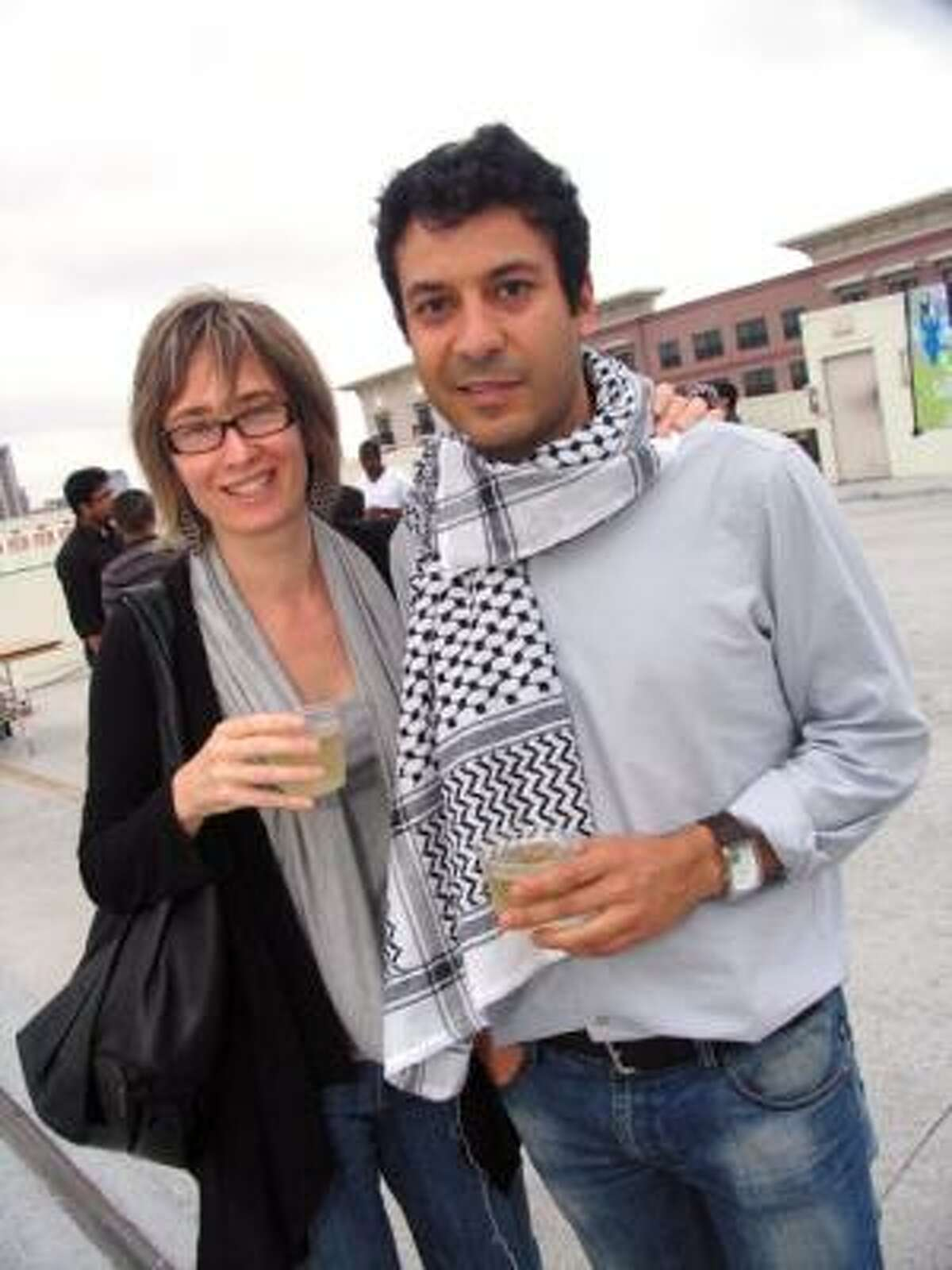 Suzanne Robertson, left, and Assaad Abbond