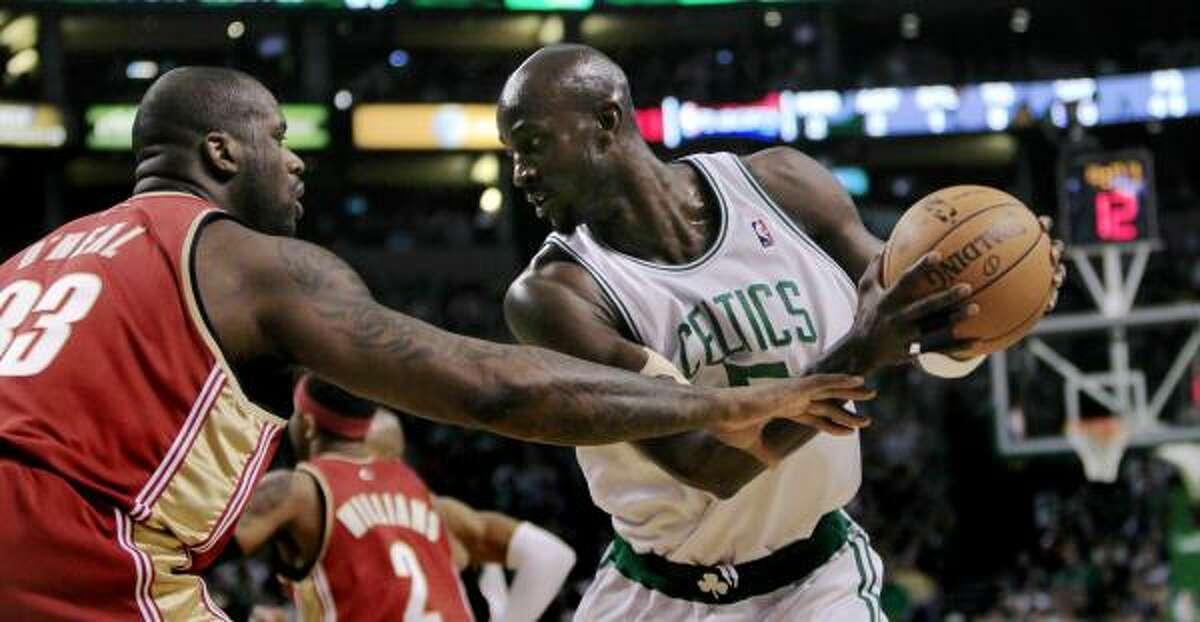 Game 6: Celtics 94, Cavaliers 85 Celtics forward Kevin Garnett, right, scored a team-high 22 points and grabbed 12 rebounds.