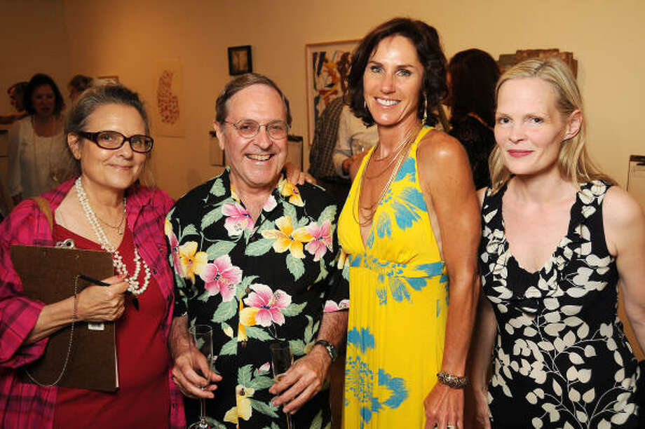 From left: Marlene Picard, Wayne Picard, Heidi Gerger and Alexandra Weems Photo: Dave Rossman, For The Chronicle