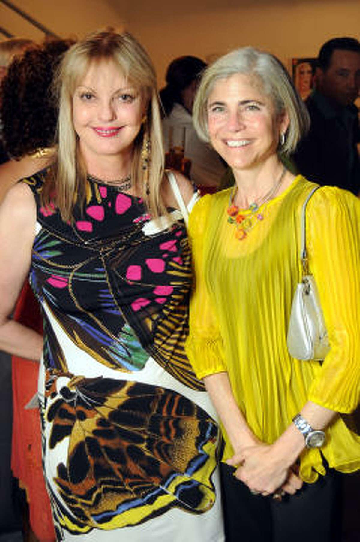 Karen Bradshaw and Judy Nyquist