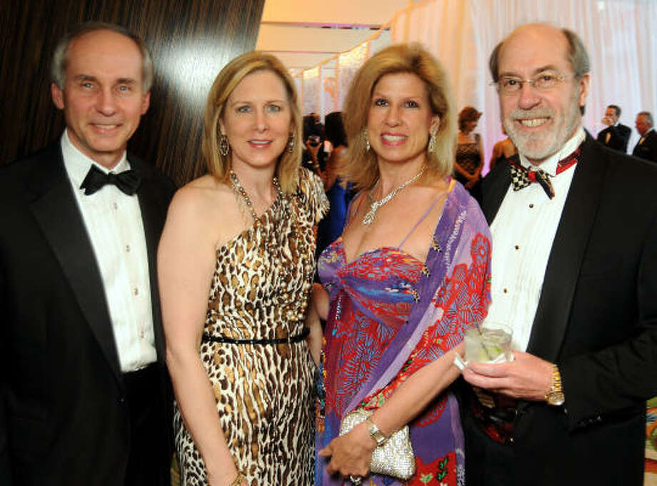 From left: Bill and Margaret Pfeiffer with Connie and Cal Dalton at the 2010 Circle of Life Gala benefiting Memorial Hermann's Pediatric and Adult Centers of Excellence in Neurosciences. Photo: Dave Rossman, For The Chronicle