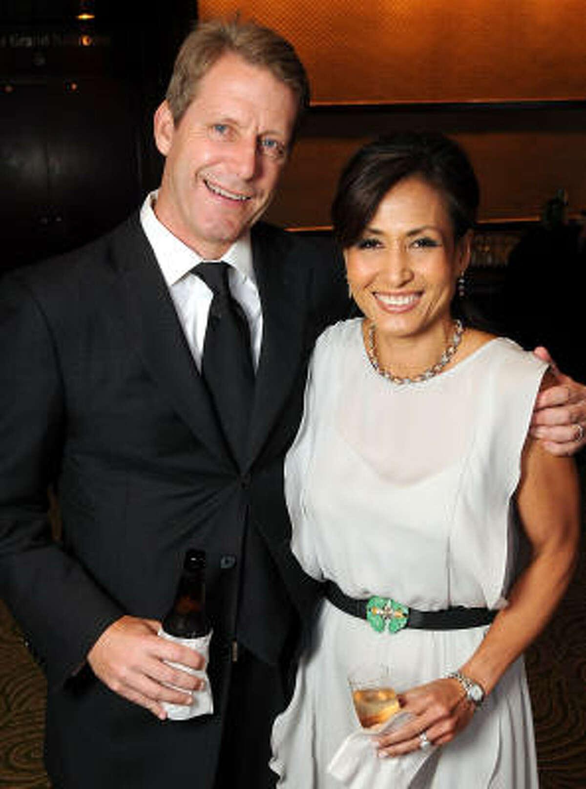 Tammie and Scott Brewer