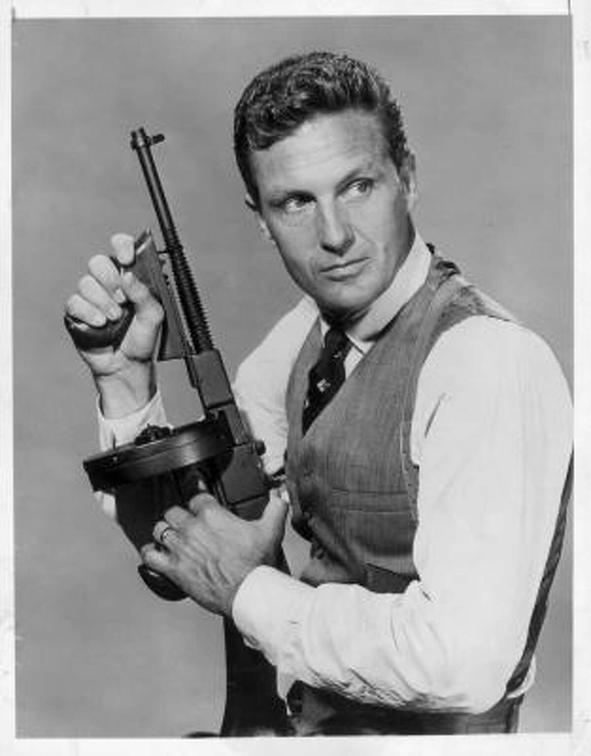 Though 3-D was known to most audiences as a viewing format for comics, the release of Bwana Devil (1954), starring Robert Stack of The Untouchables fame, marked the golden era of 3-D in film. 3-D would largely remain associated with film from then on.