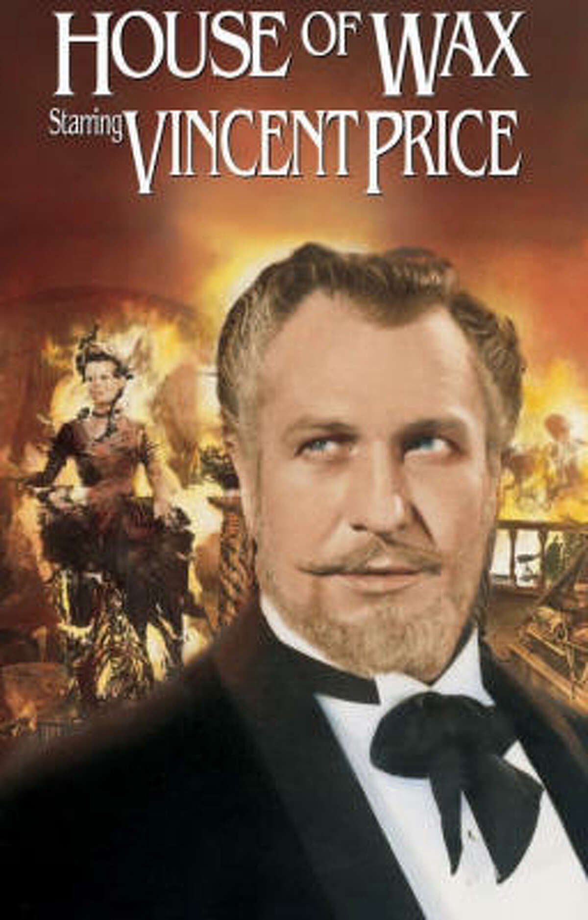 Though House of Wax, starring Vincent Price, was the first 3-D film with a stereophonic soundtrack. It also helped Price launch his career as a master of the spooky.