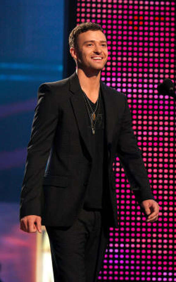 Timberlake was the first celebrity to appear on Ashton Kutcher's Punk'd. He cried during the episode, but later admitted to being under the influence of marijuana during the show. Photo: Kevin Winter, Getty Images For AMA