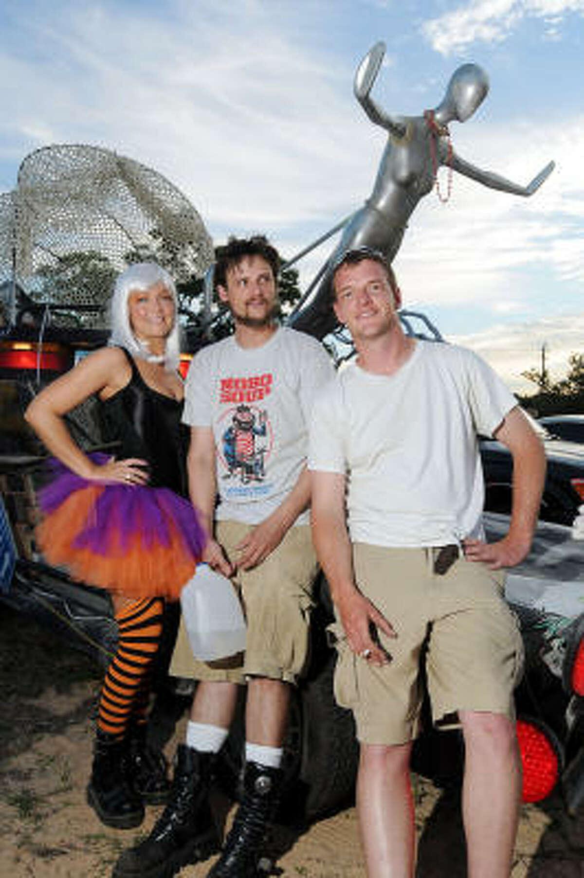 Meg Kosowski, Adam Lutterman and Andy Rennert