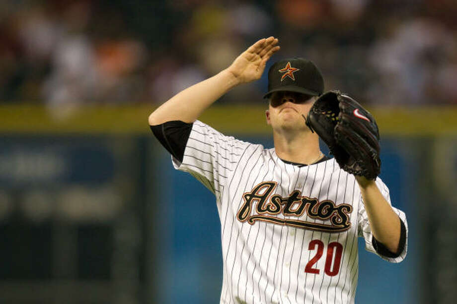 May 7: Padres 7, Astros 0Astros starter Bud Norris had a rough night, allowing five runs (four earned) in four innings on his way to falling to 1-4. Photo: Smiley N. Pool, Chronicle