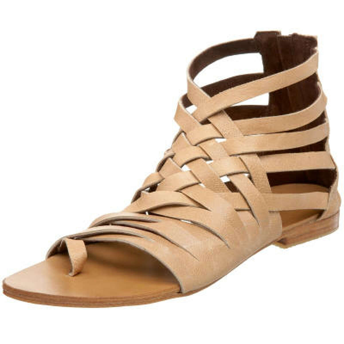 And don't worry if you stocked up on gladiator sandals last year, they're more popular than ever in 2010. Cocobelle Grecian Sandal, $165, at endless.com