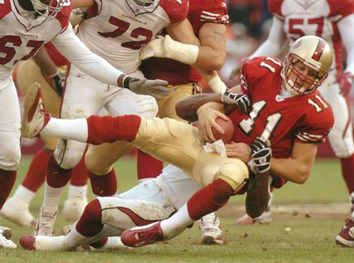 2005: Alex Smith, QB Pick: 1st Overall Team: San Francisco 49ers Record: 16-24 College: Utah