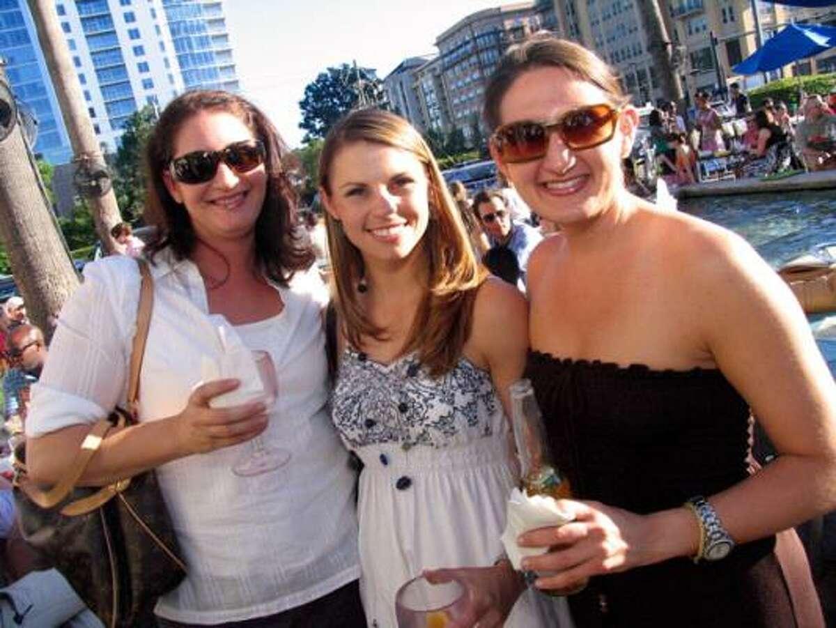 Yael Iffergan, from left, Brandie Bergeron, and Nikole Simon