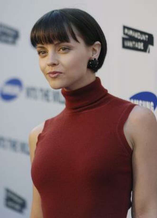 Christina Ricci suffers from botanophobia - the fear of plants. She is especially afraid of houseplants. Photo: Chris Pizzello, AP