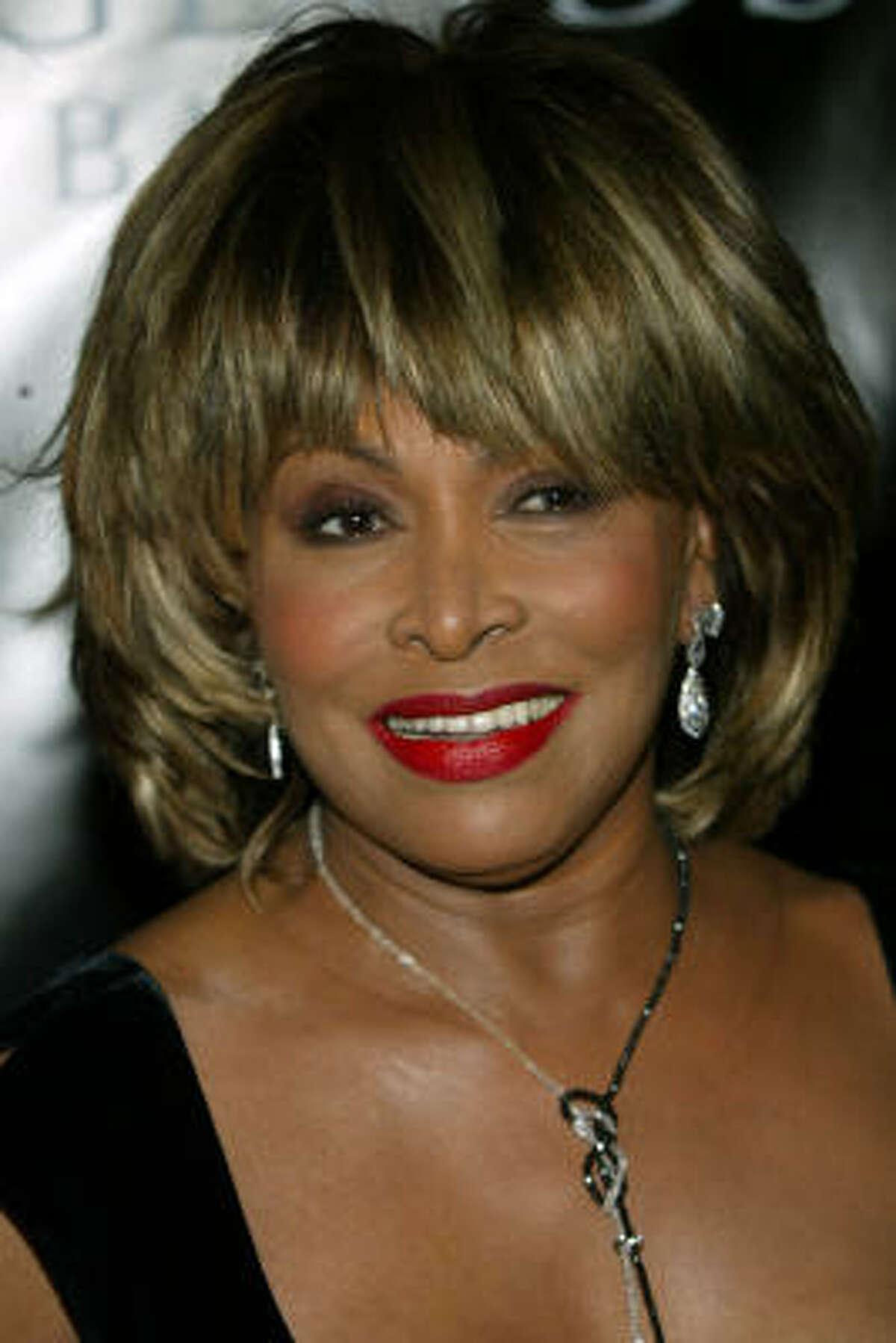 SANTA BARBARA, CA - MAY 14: Recording artist Tina Turner attends Oprah Winfrey's Legends Ball at the Bacara Resort and Spa on May 14, 2005 in Santa Barbara, California.