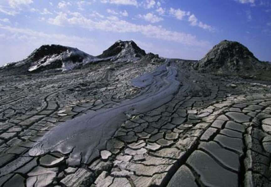 Three hundred of the world's 700 estimated Mud Volcanoes are located in Azerbaijan. Th