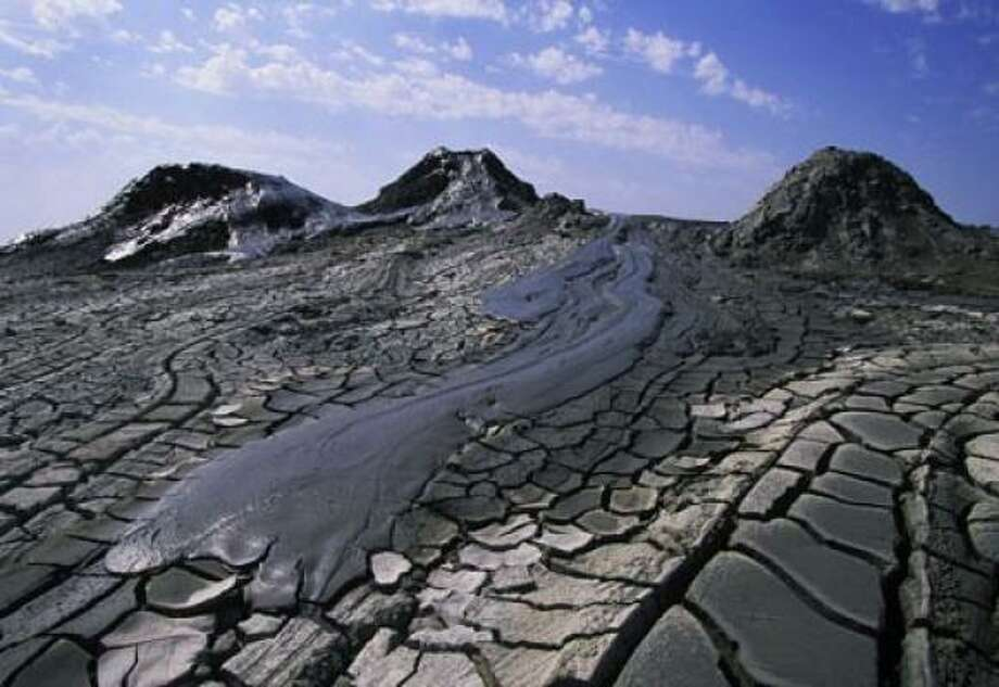 Three hundred of the world's 700 estimated Mud Volcanoes are located in Azerbaijan. These gurgling pots of bubbling mud are the result of underground gases and secreted liquids.