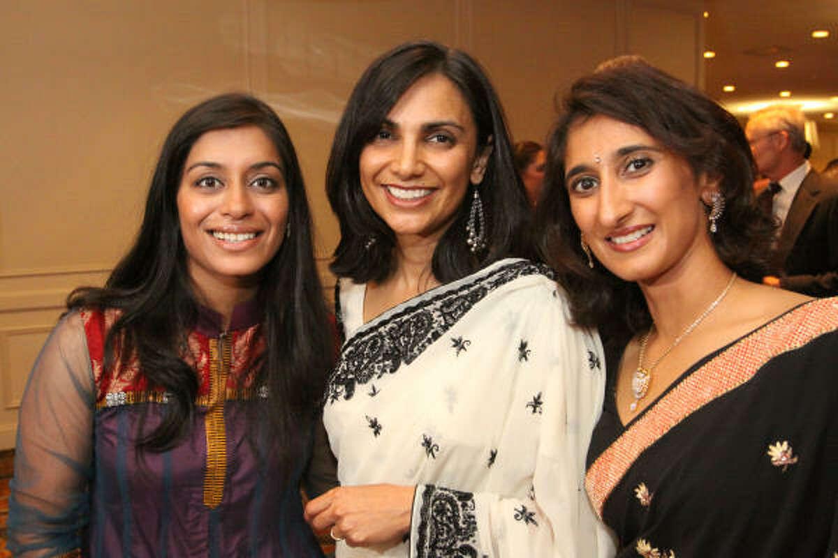 Sejal Patel, Amita Desai and Sonal Dholakia