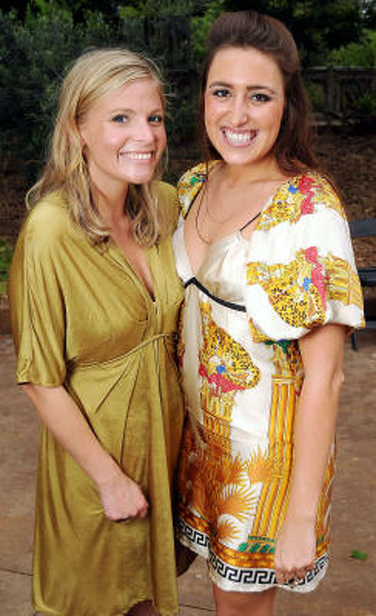 Amanda Burke and Linda Gardner
