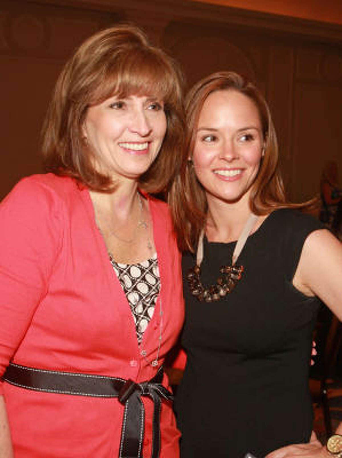 Ann Mills, left, and Liz Swan