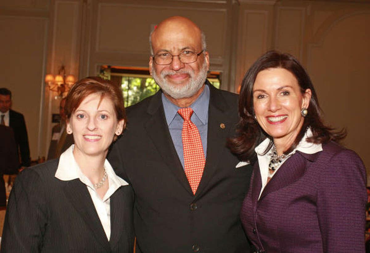 Sonia Freeman, from left, Larry Payne and Karen Love