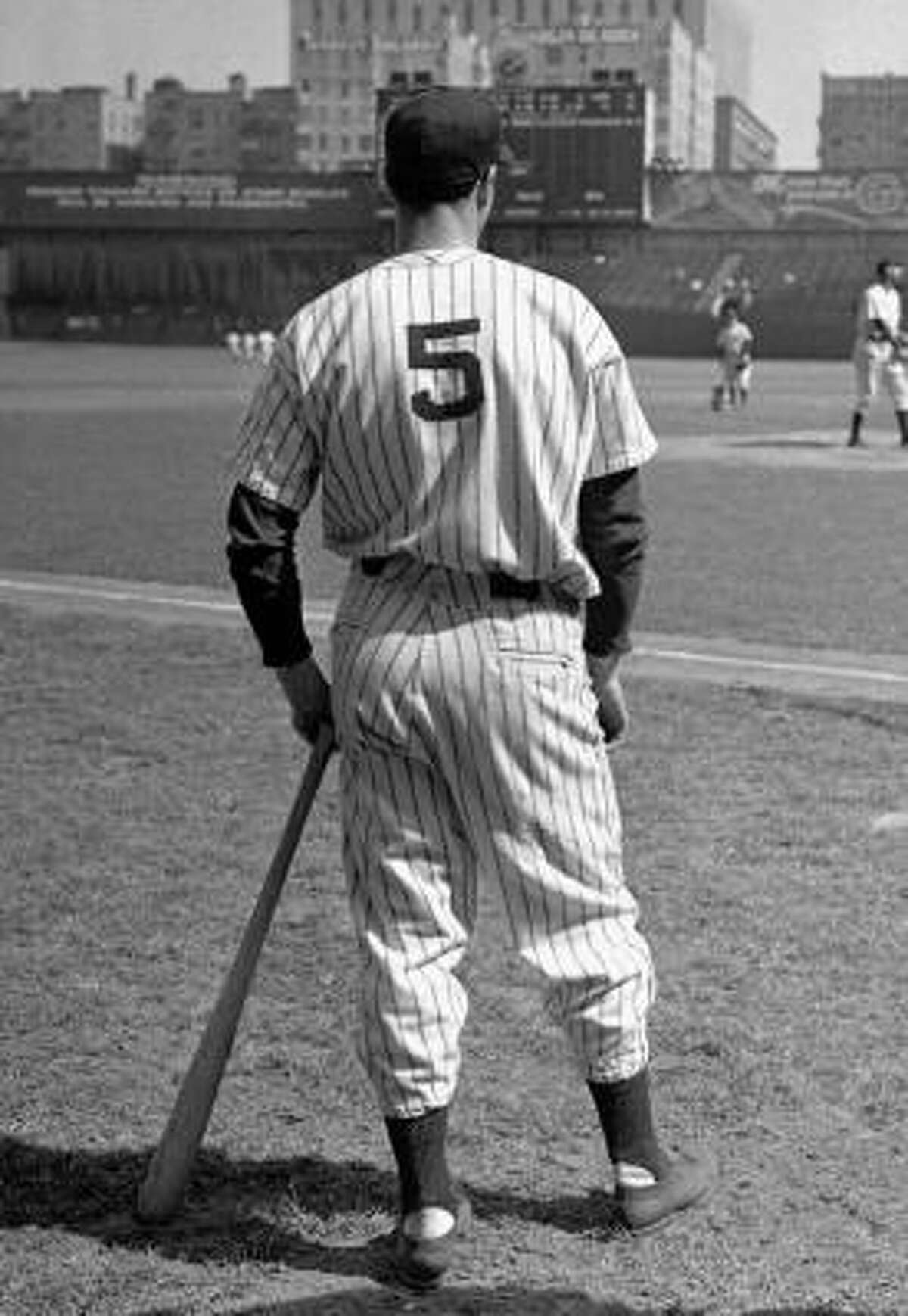 Joe DiMaggio Arguably the great athlete to ever wear No. 5.