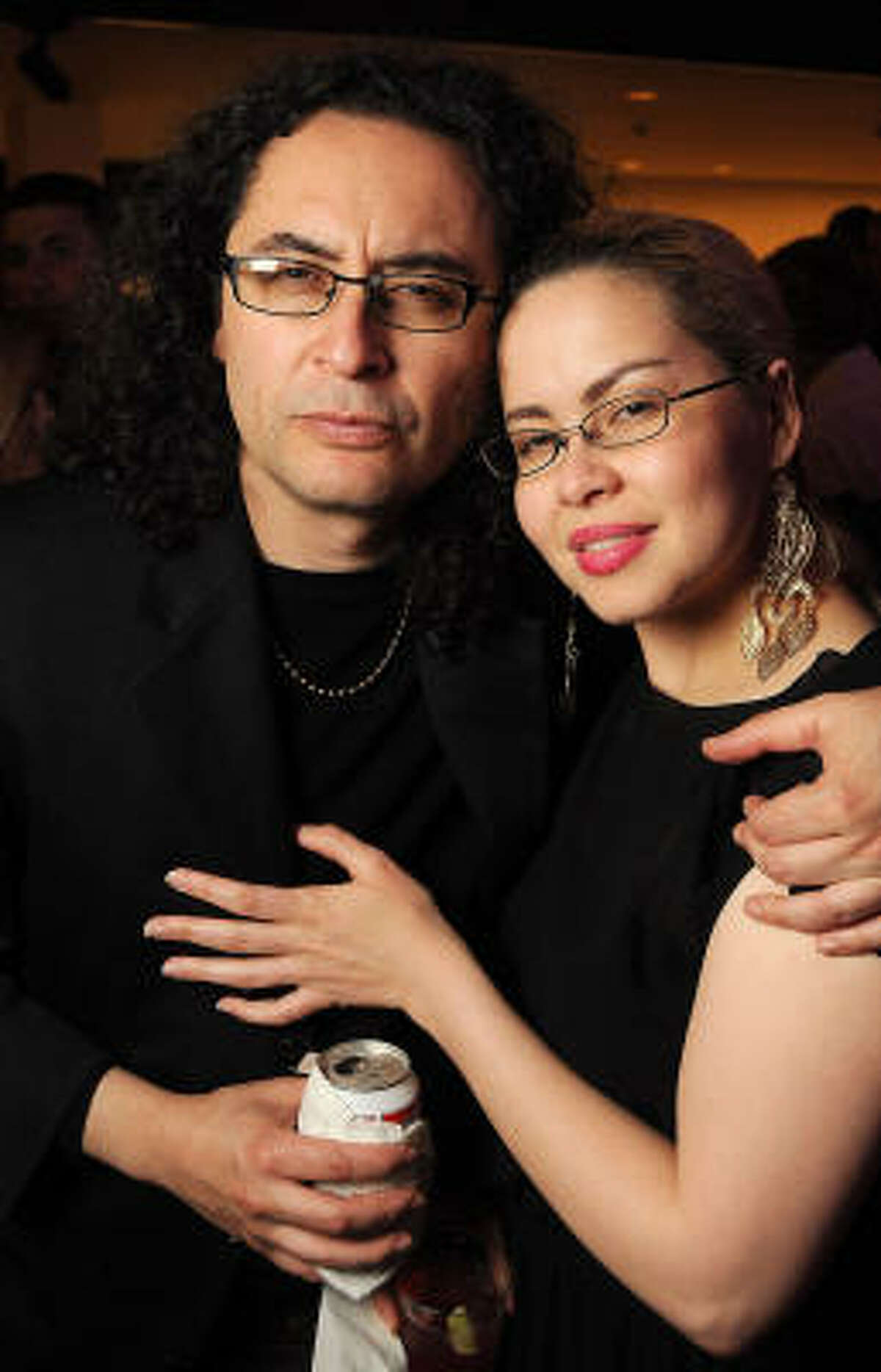 Ezekiel Solis and Elizabeth Stuart