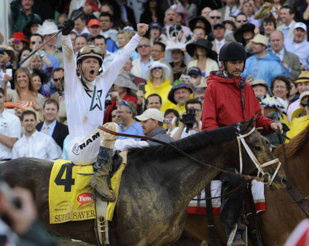 Jockey Calvin Borel added another Kentucky Derby trophy to his impressive resume.
