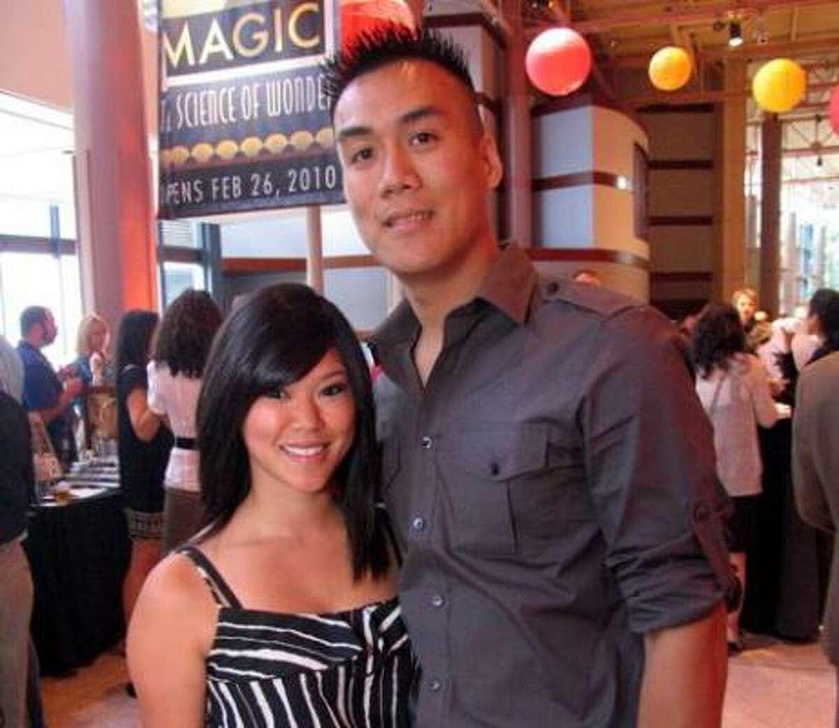 Linda Tran, left, and Johnny Hong
